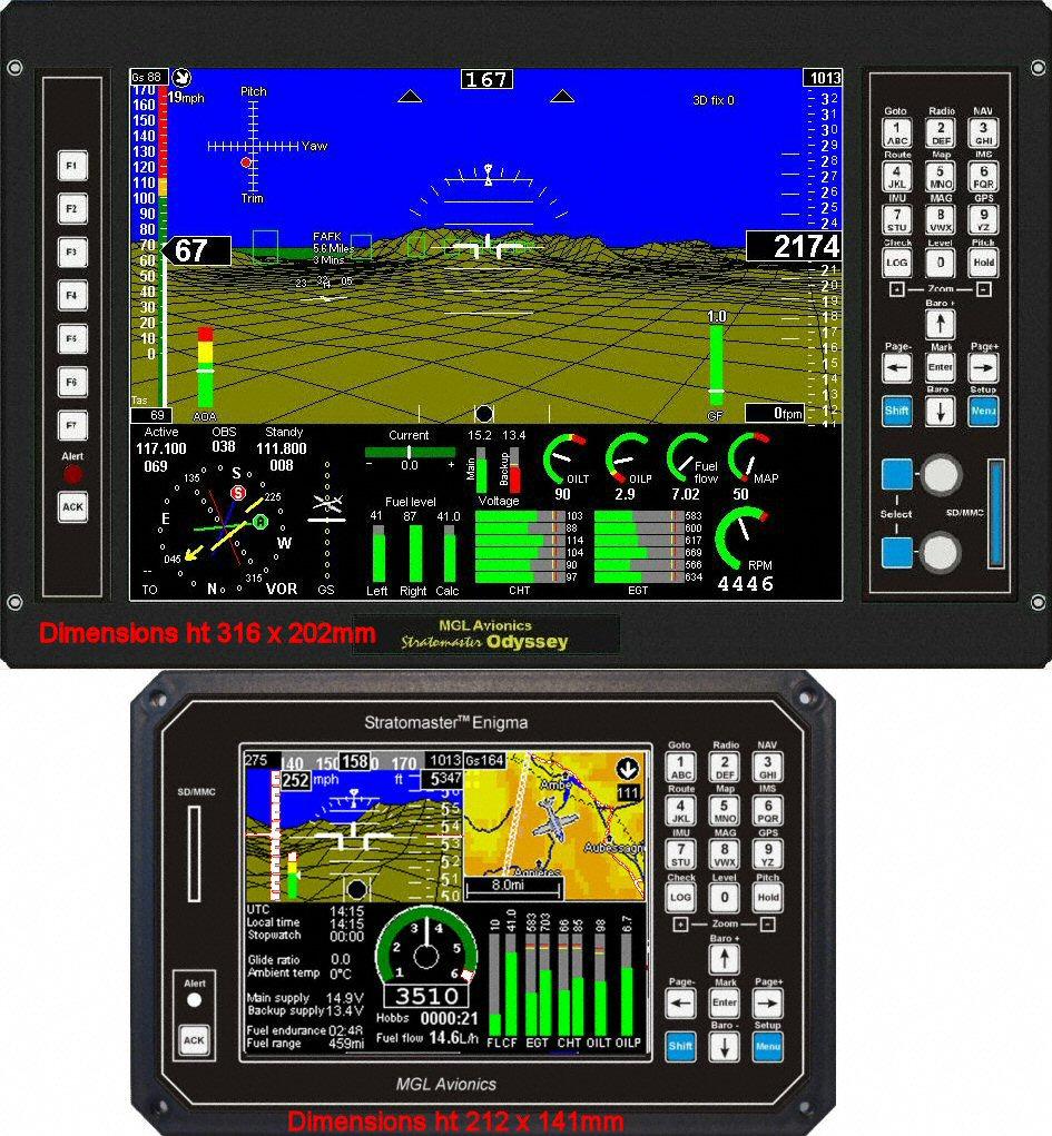 odyssey_enigma stratomaster instrumentation mgl avionics  at bayanpartner.co