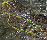 Visualisation Boîte Noire sur Google Earth. Cliquer pour agrandir.
