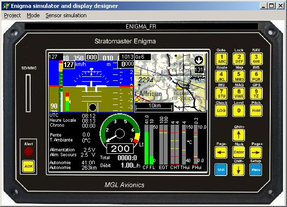 STRATOMASTER MGL Avionics, Instruments & EFIS avionique ULM, compas